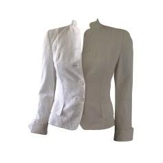 Jacket TARA JARMON White, off-white, ecru