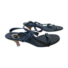 Sandales à talons LORO PIANA Noir