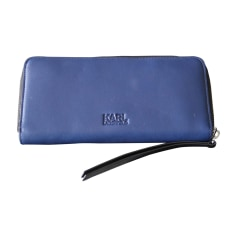 Wallet KARL LAGERFELD Blue, navy, turquoise