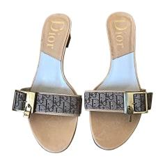 Sandales à talons DIOR Beige, camel