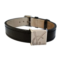 Bracelet YVES SAINT LAURENT Argenté, acier