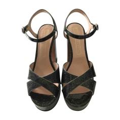 Sandales à talons MARC JACOBS Noir
