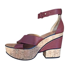 Sandali con tacchi CHLOÉ Marrone