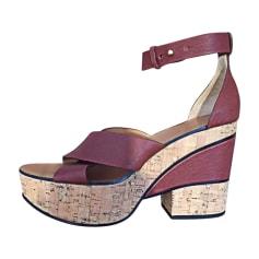 Heeled Sandals CHLOÉ Brown