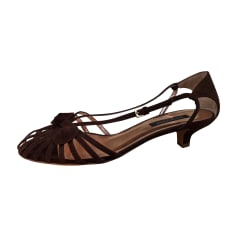 Heeled Sandals SERGIO ROSSI Brown