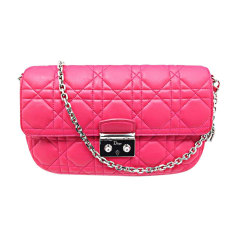 Leather Handbag DIOR MISS DIOR Pink, fuchsia, light pink