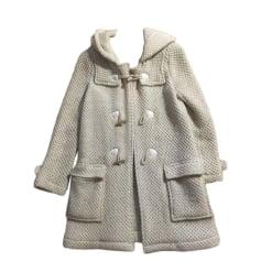 Mantel BA&SH Weiß, elfenbeinfarben