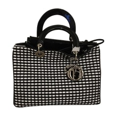 Leather Handbag DIOR DIORISSIMO Silver