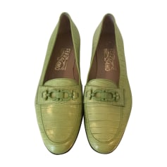 Loafers SALVATORE FERRAGAMO Green
