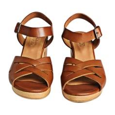 Sandales à talons ANTHOLOGY PARIS Marron
