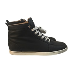 Sports Sneakers CHRISTIAN LOUBOUTIN Brown