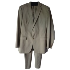 Complete Suit ALAIN MANOUKIAN Beige, camel