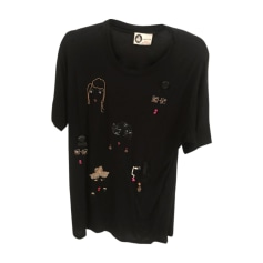 Top, t-shirt LANVIN Nero
