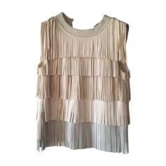 Top, tee-shirt SONIA RYKIEL Blanc, blanc cassé, écru