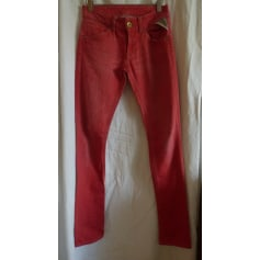 Jeans slim REPLAY Rouge, bordeaux