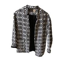 Jacket DES PETITS HAUTS White, off-white, ecru