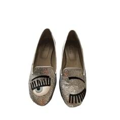 Ballet Flats CHIARA FERRAGNI Silver
