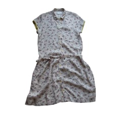 Midi-Kleid ZADIG & VOLTAIRE Weiß, elfenbeinfarben