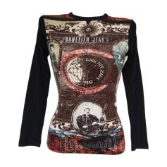 Top, T-shirt JEAN PAUL GAULTIER Brown