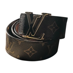 Skinny Belt LOUIS VUITTON Brown