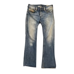 Boot-cut Jeans, Flares DIESEL Blue, navy, turquoise