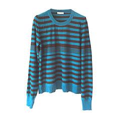 Pull SONIA RYKIEL Bleu, bleu marine, bleu turquoise
