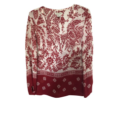 Blouse BANANA REPUBLIC Rouge, bordeaux