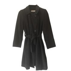 Pea Coat GERARD DAREL Gray, charcoal