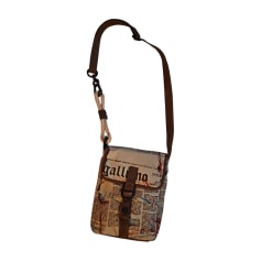 Small Messenger Bag JOHN GALLIANO Brown