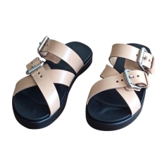 Flat Sandals ALEXANDER WANG Nude ( beige naturel)