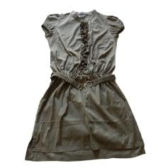 Mini Dress PATRIZIA PEPE Khaki