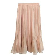 Midi Skirt MAJE Pink, fuchsia, light pink