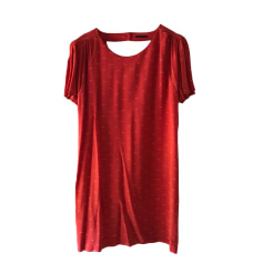 Mini Dress IKKS Red, burgundy