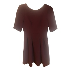 Mini Dress CLAUDIE PIERLOT Red, burgundy