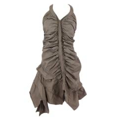 Midi Dress ONE STEP Gray, charcoal