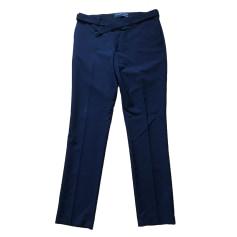Pantalone slim THE KOOPLES Blu, blu navy, turchese