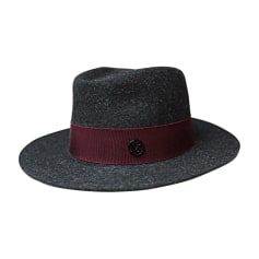 Hat MAISON MICHEL Gray, charcoal