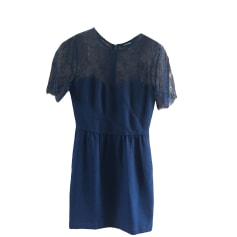 Mini-Kleid THE KOOPLES Blau, marineblau, türkisblau