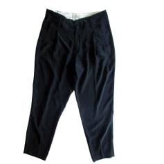 Pantalon droit FORTE_FORTE Noir