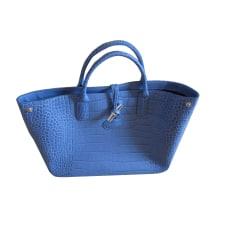 Borsetta in pelle LONGCHAMP Blu, blu navy, turchese