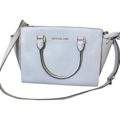 Leather Shoulder Bag MICHAEL KORS Blue, navy, turquoise