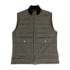 Vest, Cardigan BRUNELLO CUCINELLI Brown