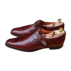 Chaussures à boucles SANTONI Marron