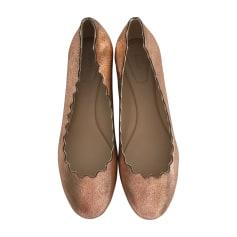 Ballerinas CHLOÉ Gold, Bronze, Kupfer