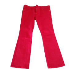 Skinny Jeans DSQUARED2 Pink, fuchsia, light pink