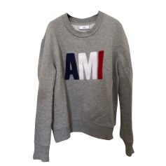 Sweatshirt AMI Gray, charcoal