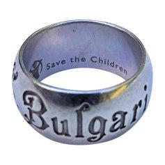 Bague BULGARI Argenté, acier
