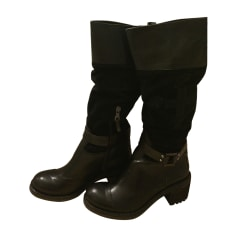 High Heel Boots MICHAEL KORS Black