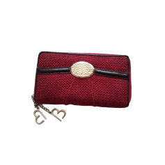 Wallet LANCEL Brigitte Bardot Red, burgundy