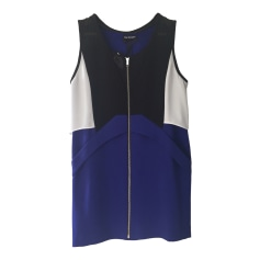Mini-Kleid THE KOOPLES Noir blanc et bleu